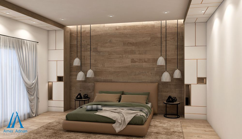 Modern Bedroom Design With Simple Yet Elegant Finish Front View Call 0423 6655262 Or Visit W Modern Bedroom Design Residential Interior False Ceiling Design