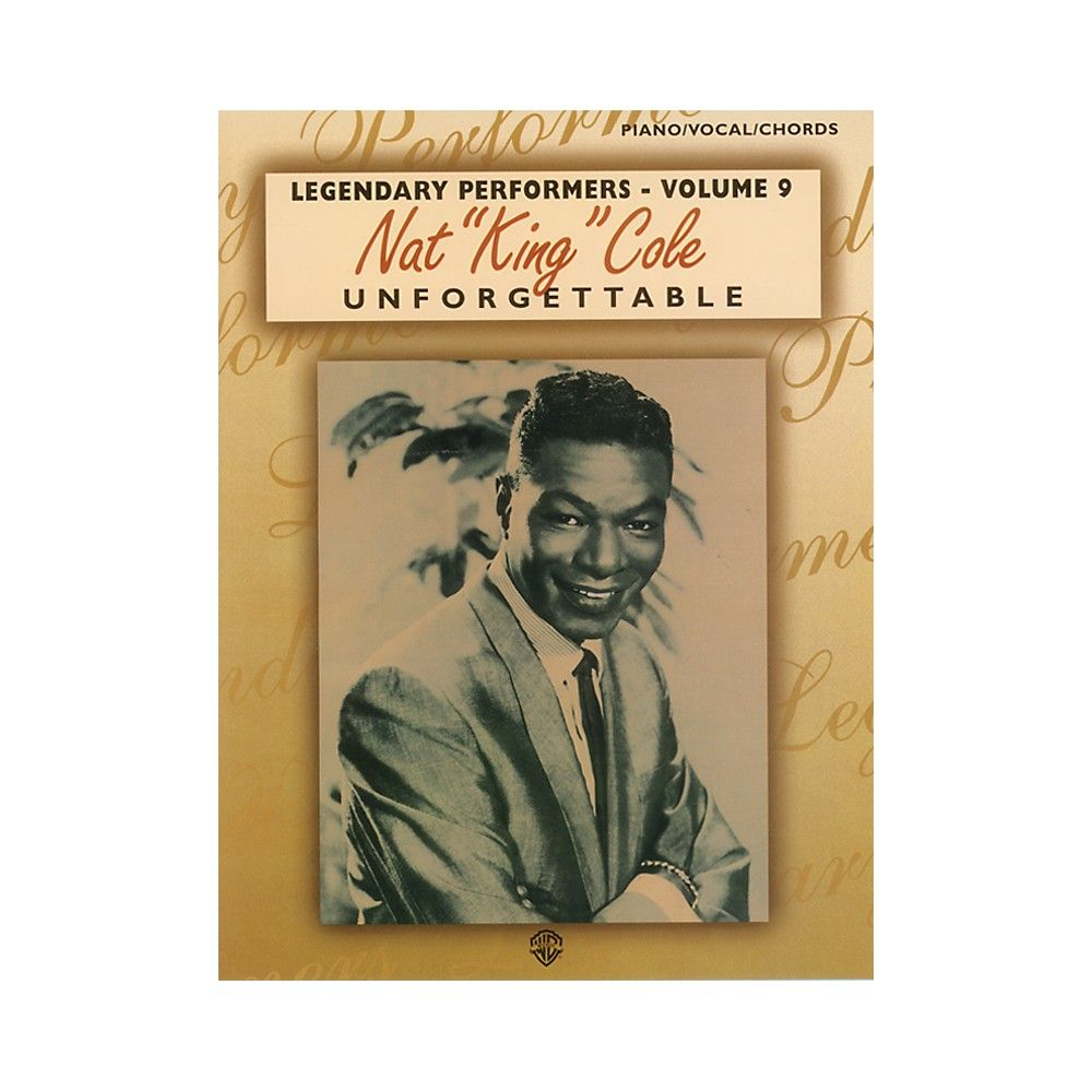 Alfred Nat King Cole Unforgettable Pianovocalchords Book