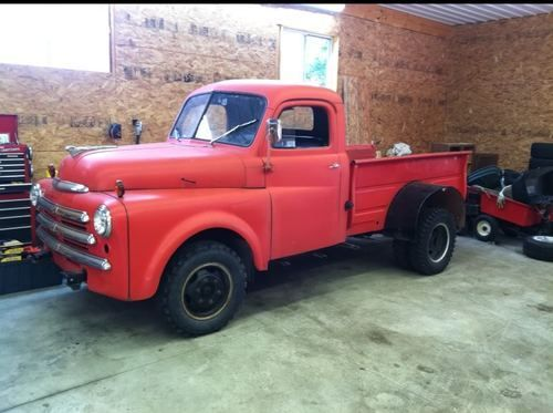 Dodge 1 Ton Dually 1949 Dodge 3 4 Ton Dually Pickup Truck Us