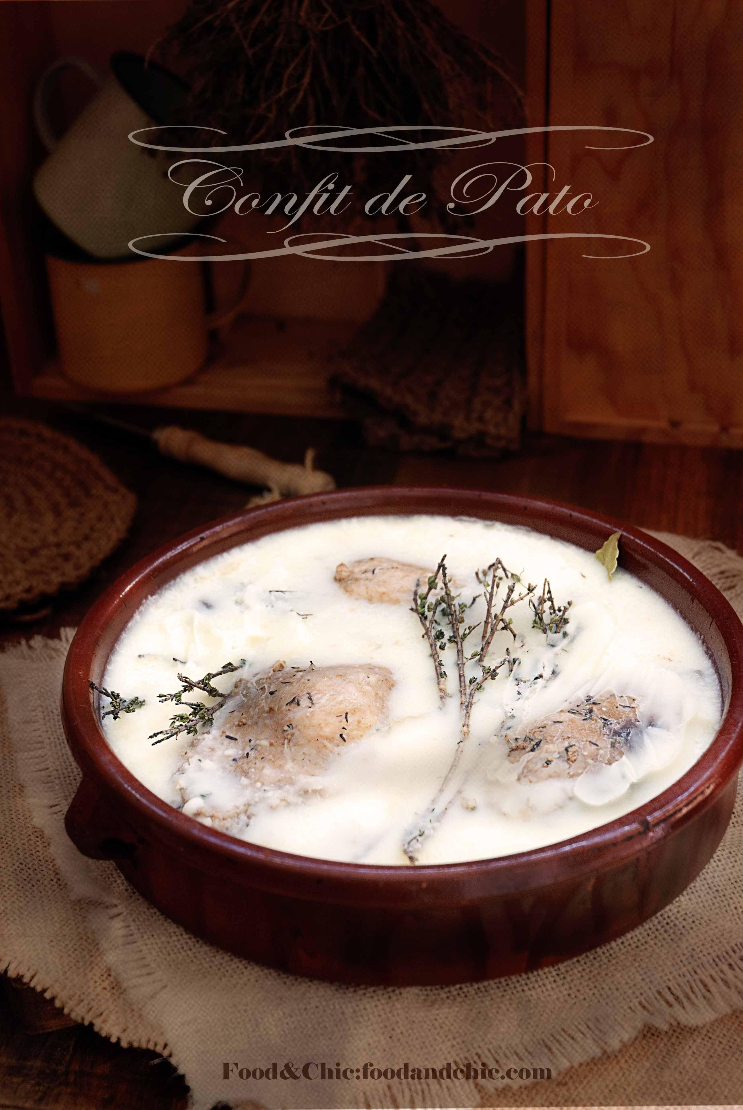 Vuelta al mundo en 80 recetas:17-FRANCIA: Confit de pato con lentejas verdes de Puy