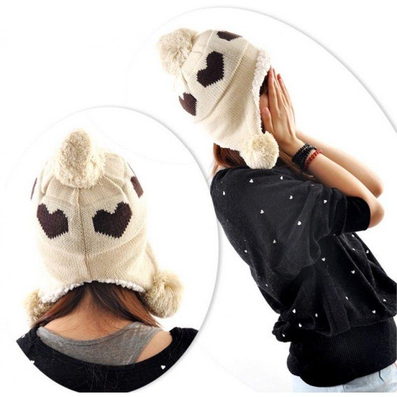 Touca Peruana com Pompom  moda  coração  modafeminina  frio  estilo   estilofeminino 0f24a98bd83