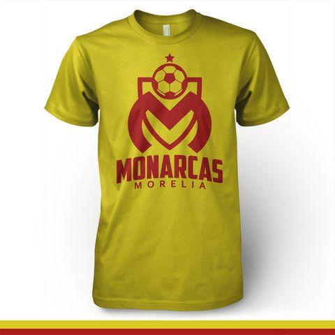 197af62ef37 Monarcas Morelia Mexico - La Monarquia T-shirt Camiseta - Pandemic Soccer