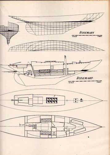 """Sailing, Seamanship and Yacht Construction"",  by Uffa Fox, 1941 Ten Pound Island Book Company."