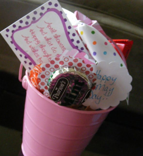 Easy And Inexpensive May Basket Idea Basket Ideas Easy And Craft