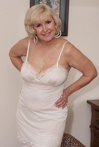 Women over 60 in lingerie