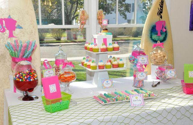 Nautical Beach Theme Birthday Party Ideas With Images Beach