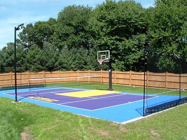 Top 10 Game Court Building Tips Sport Court St Louis Backyard Sports Backyard Playground Outdoor Basketball Court
