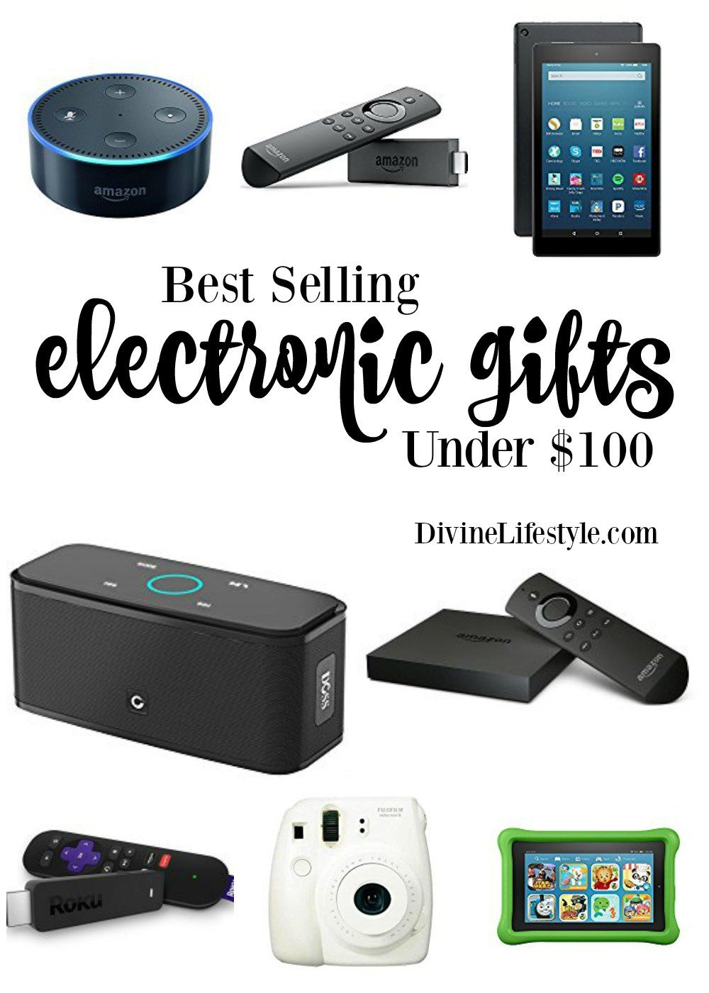 Holiday Gift Ideas Best Selling Electronics Under 100 Electronic Gift Ideas Best Electronic Gifts Tech Christmas Gifts