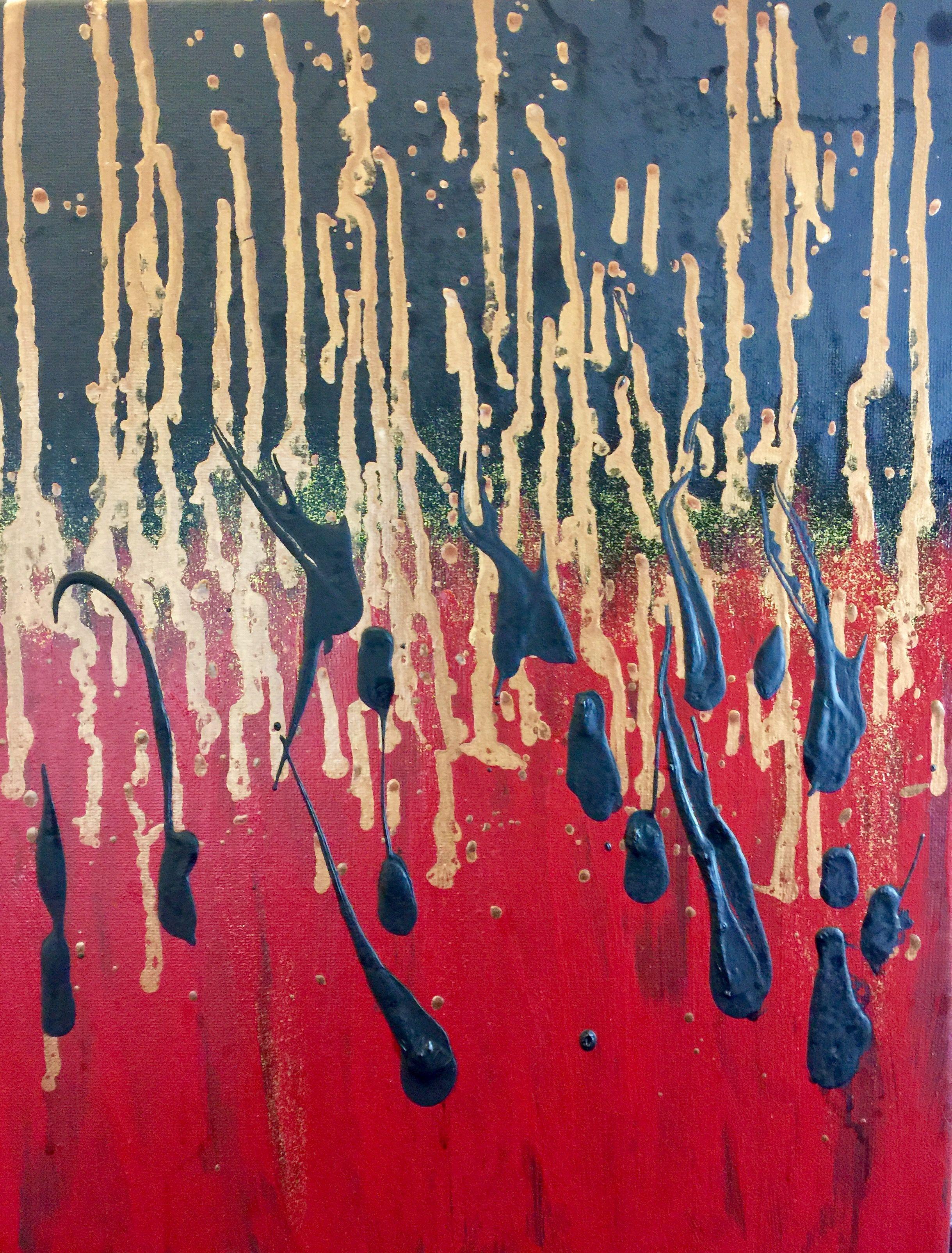 Dark Souls 11x14 Orignal on canvas