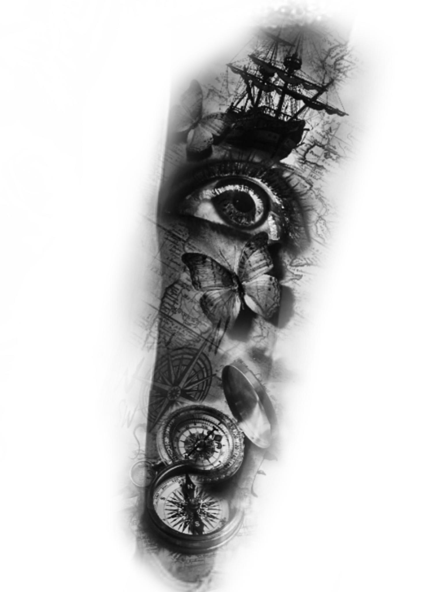 Black and white tattoo ideas pin by xăm hạ on nữ châu âu  pinterest  tattoos tattoo designs