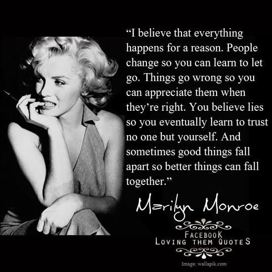 Marilyn Monroe Monroe Obsessed Pinterest Marilyn Quotes