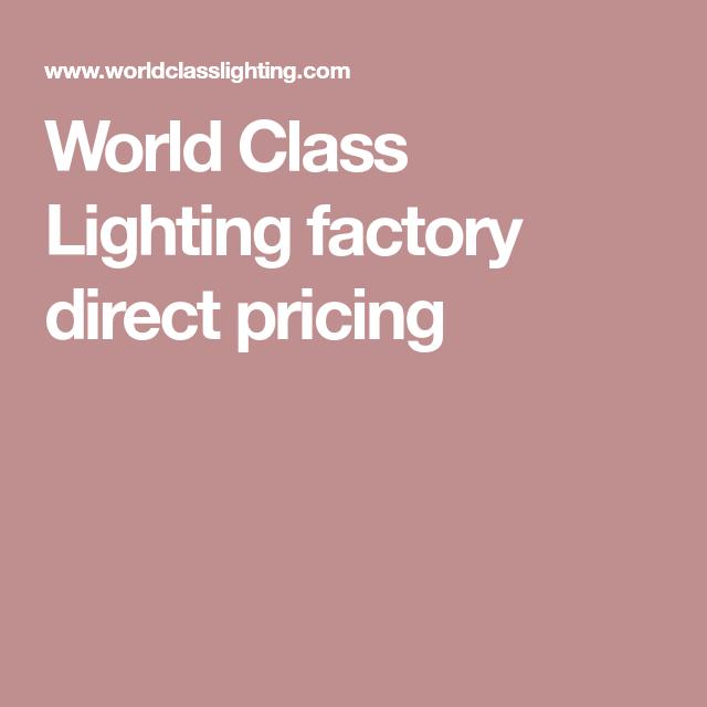 Fedezd Fel Ezeket Az ötleteket, és Még Sok Mindent Mást! World Class  Lighting ...