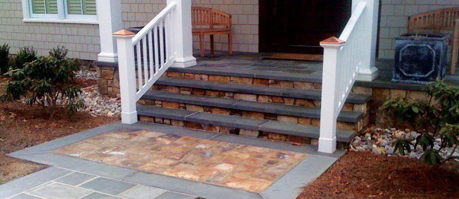 Vwvortex Com New Front Porch And Sidewalk Ideas Patio Steps