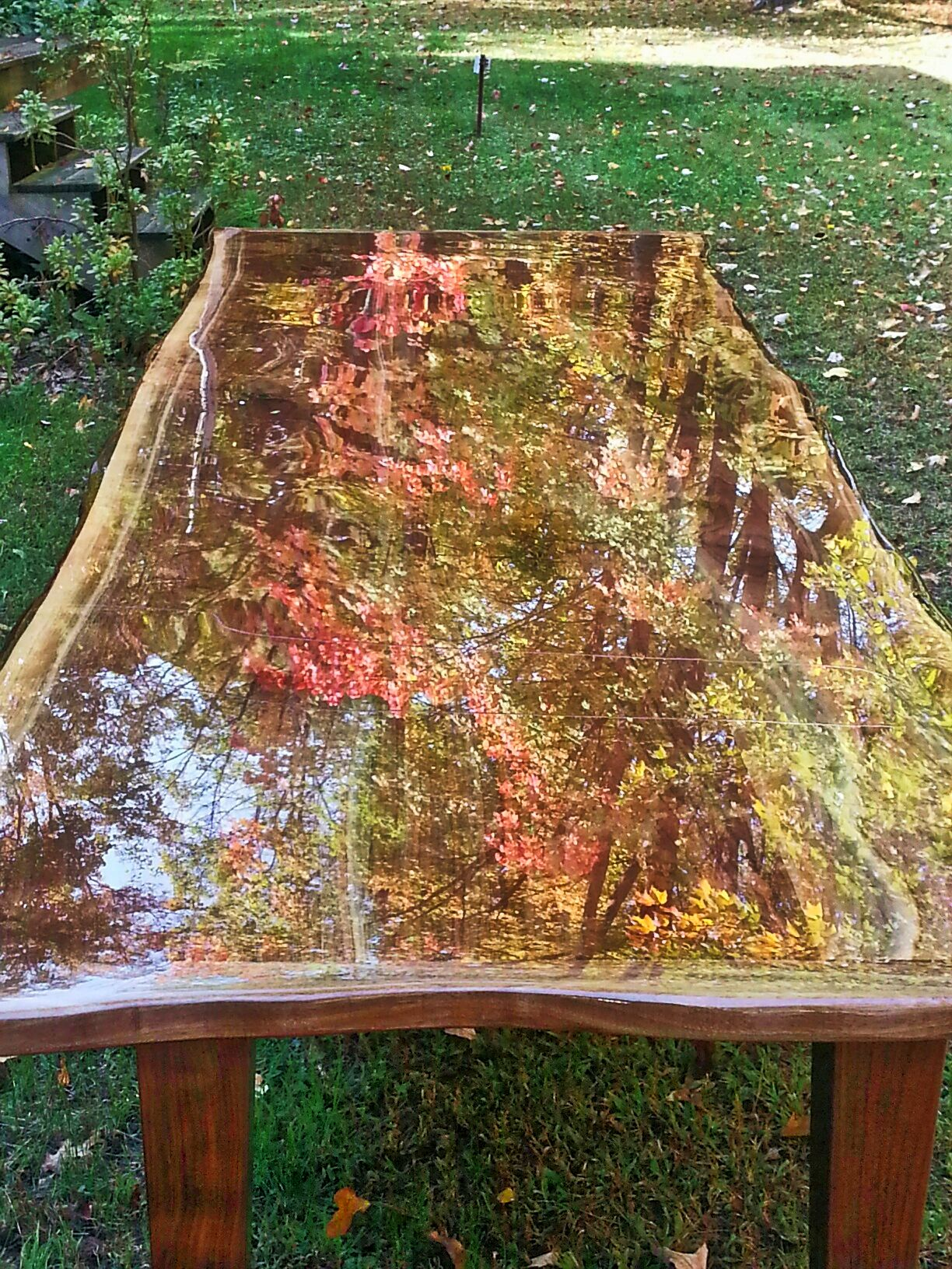 Table Top Epoxy epoxy resin coating Tables And