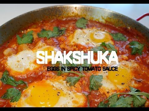Shakshuka-Eggs in Spicy Tomato Sauce | 샥슈카 - YouTube