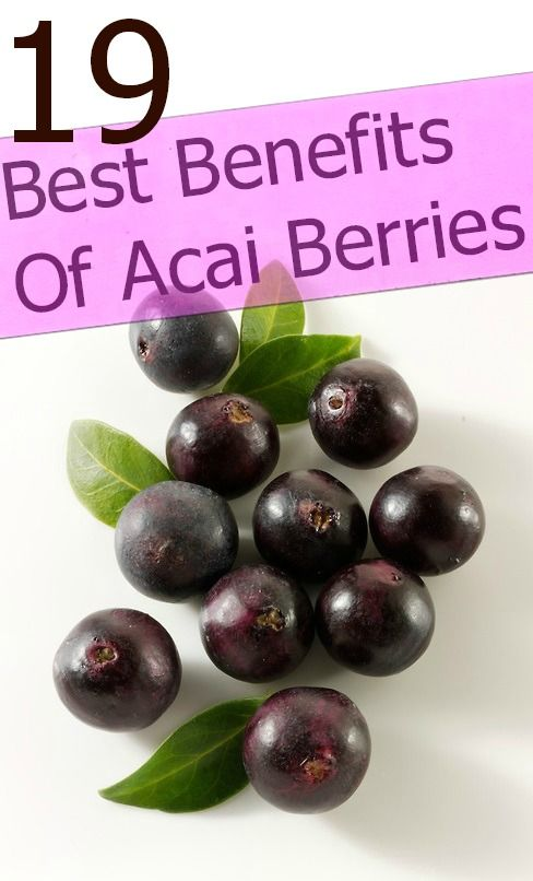 19 Amazing Benefits And Uses Of Acai Berries Acai Berry Benefits