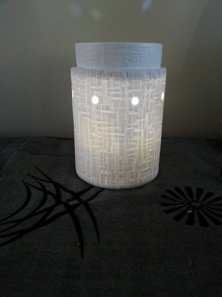 Desert Earth Warmer Deluxe Collection Scentsy Warmers Lit At