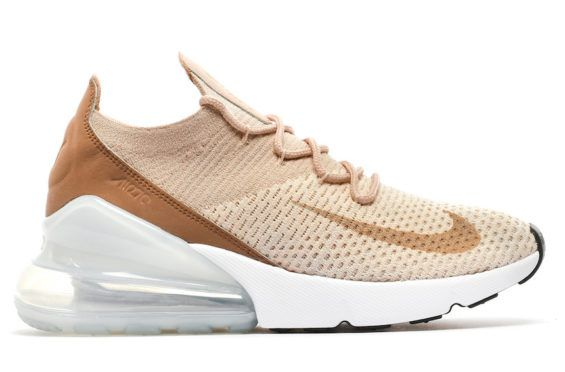A look at the Nike Air Max 270 Flyknit in Guava Ice which will be releasing  in the near future in women s sizes. 1007bc227
