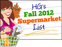 Hungry Girl Fall Supermarket List