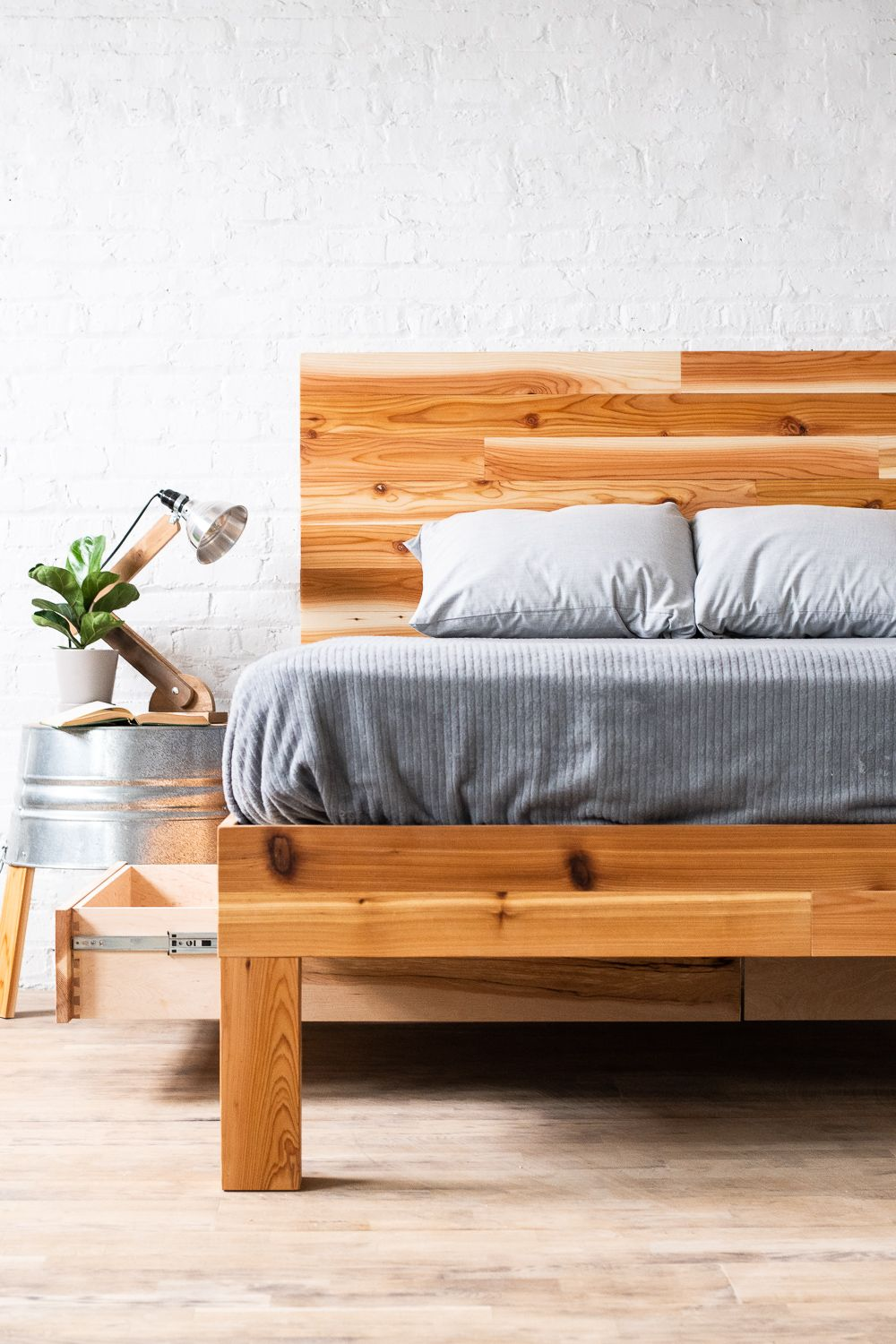 The Boswell Stow Platform in 2020 Bed frame, headboard