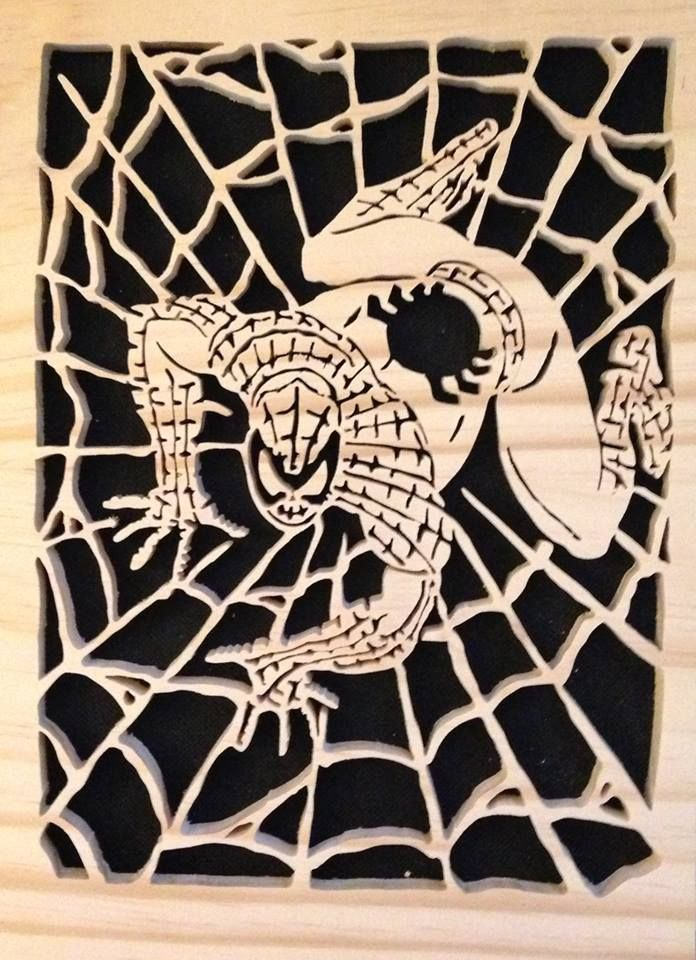 Spider Man Scroll Saw Ideas For Pep Scroll Saw