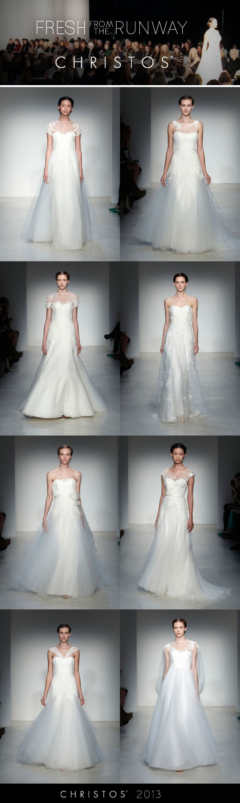 Christos Fall 2013 Bridal Collection: Exquisite Illusion | Brides of Oklahoma