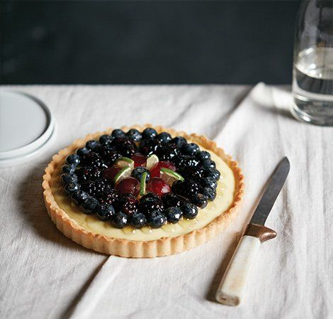 Lime Curd Tartlets with Summer Berries | Vitamix Recipe