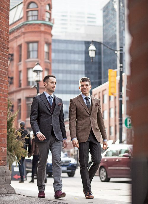 the ultimate DIY gay wedding: suits   One of These Days ...