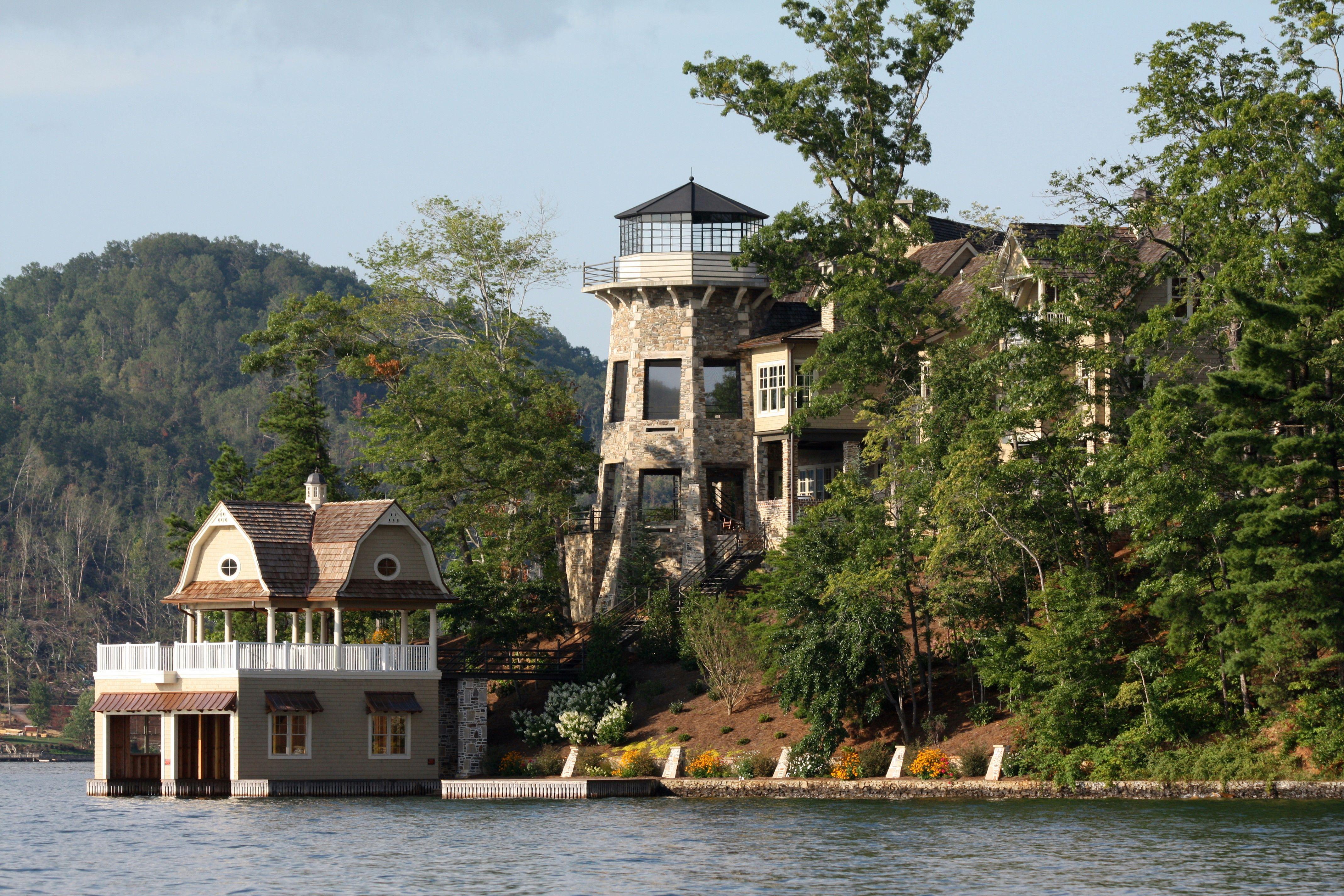 Nick Saban S House On Lake Burton Ga Architecture
