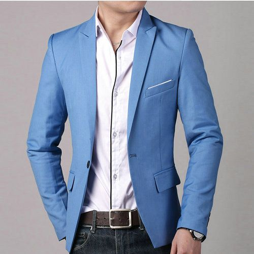 2014-Fashion-Men-Casual-1-Cotton-Jackets-Male-Slim-Fit-formal-Sky ...