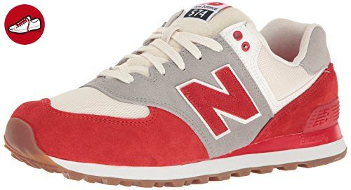 cheap for discount 19009 f56bf New Balance Herren Ml574 Sneakers, Rot (Red), 42.5 EU - New balance