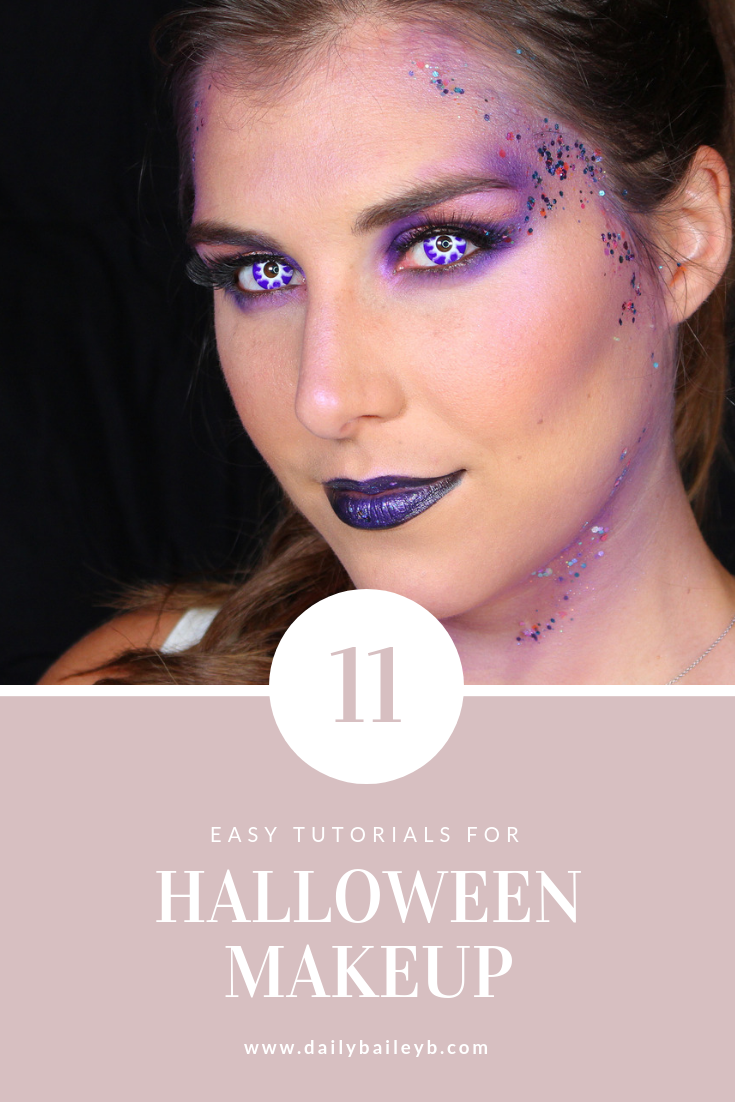 quick and easy halloween makeup ideas you haven't seen before