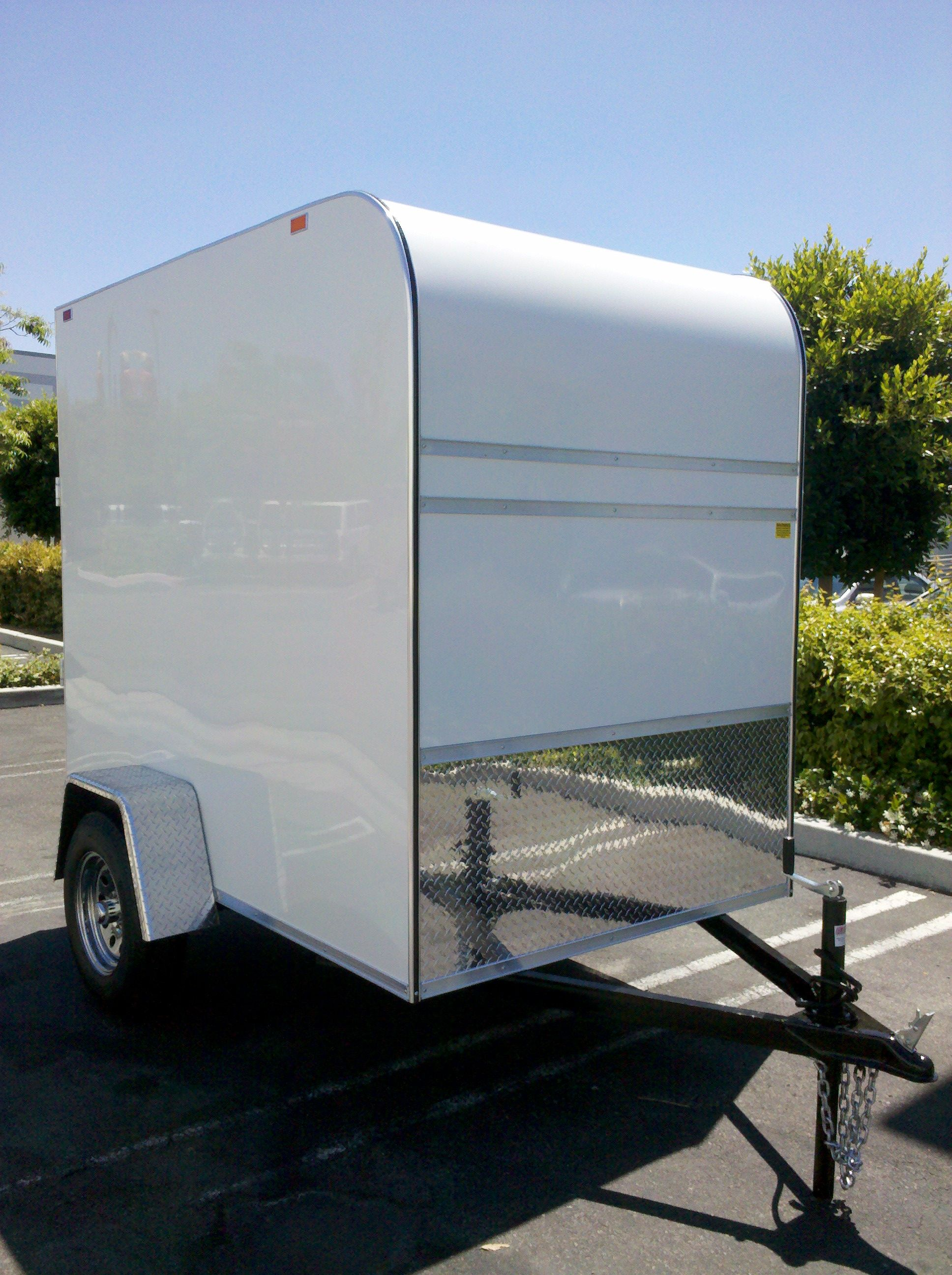 8 Toy Hauler With 5 Wide And 6 5 Tall Box Perfect For Quad Or Motorcycle Easy To Tow With Smaller Vehicles For Rent Or Sale Toy Hauler Small Cars Quad