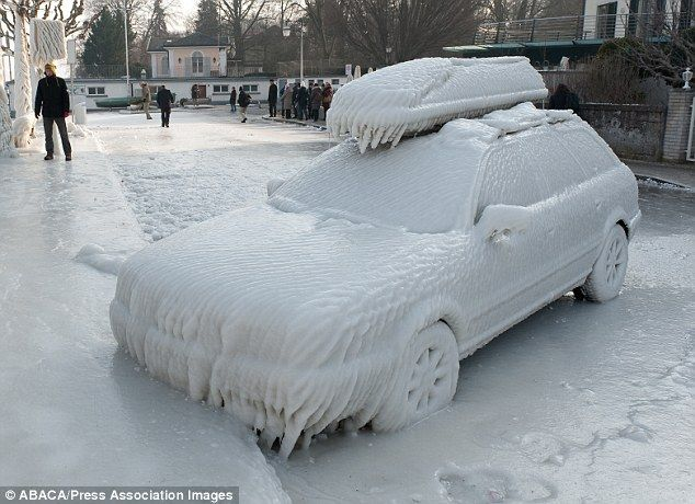 You Might Need More Than One Can Of Wd 40 To Start That One Europe Held In Icy Grip As Temperatures Plummet As Low As 20c Winter Pictures Polar Vortex