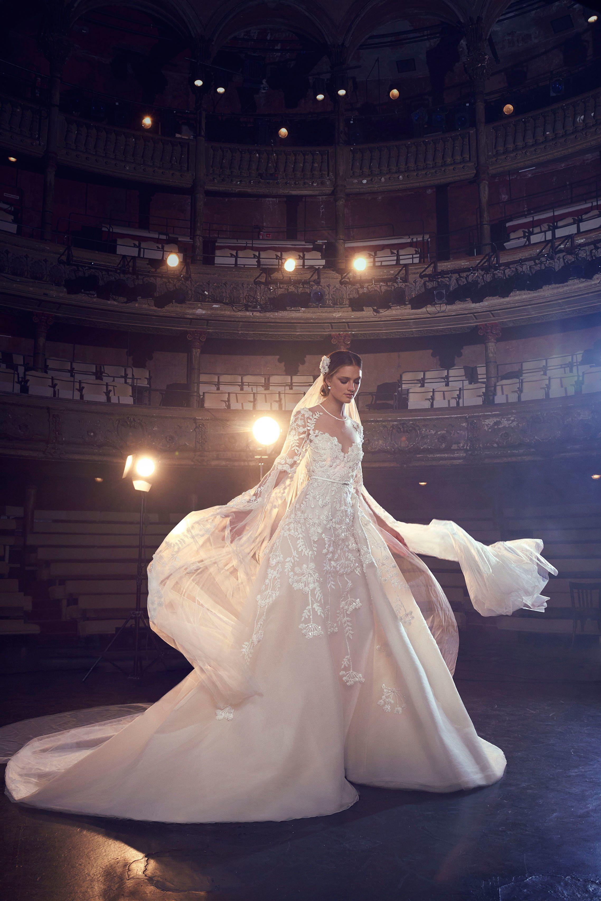 Elie saab bridal fall fashion show gowns pinterest elie