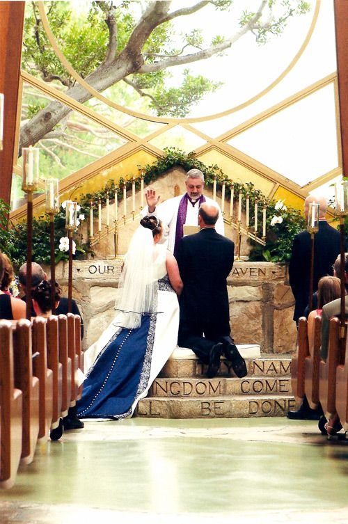 Outdoor Wedding Ceremony Small Chapel Weddings Los Angeles Church Ca Wayfarers