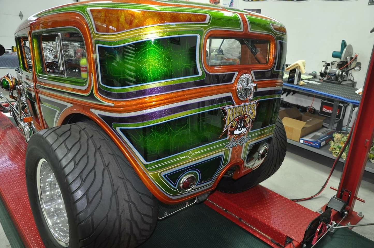 30/31 Model A Ford   Custom cars paint