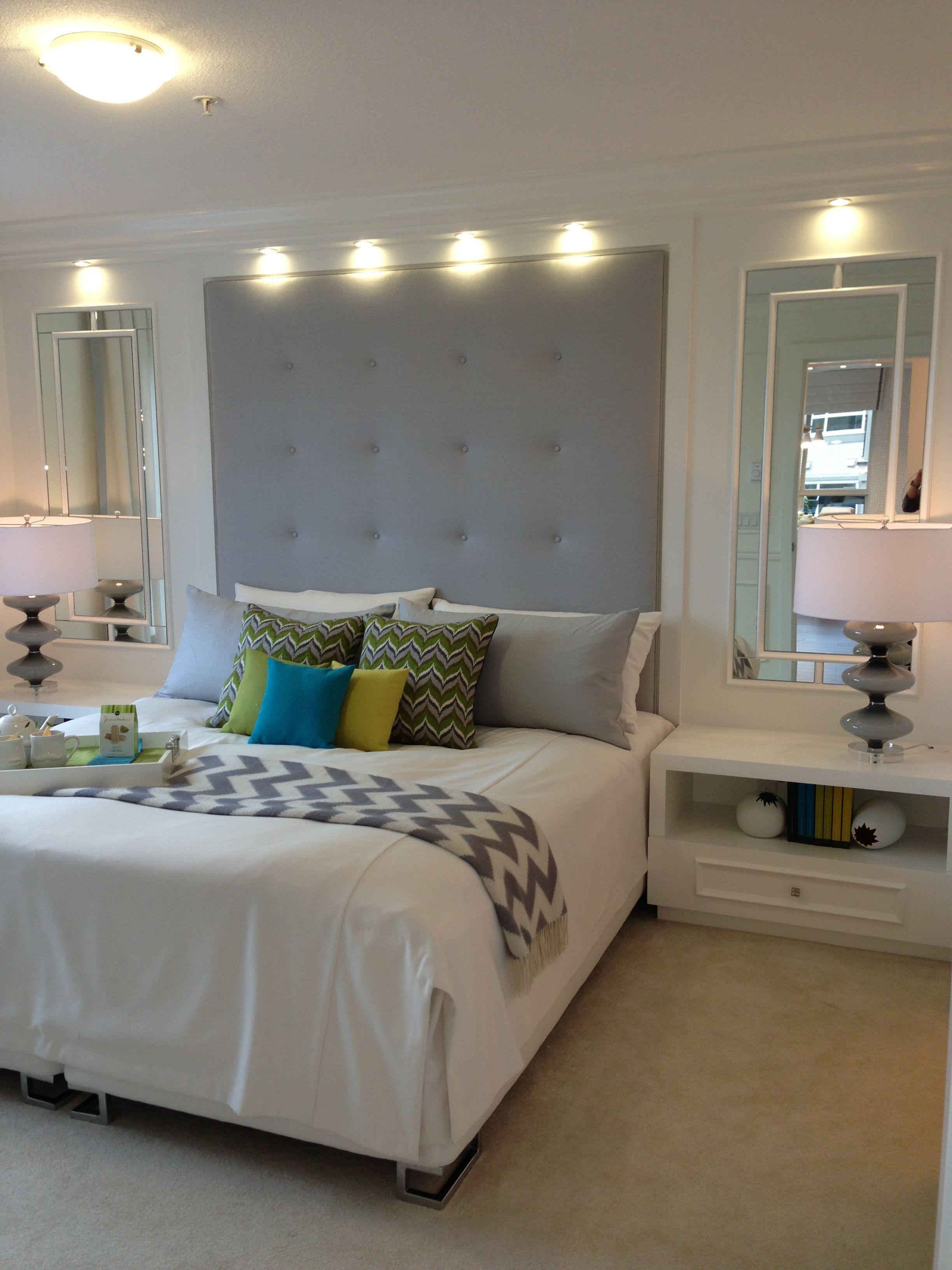 Jonathan Adler Inspired Master Bedroom At Polygon Tamarack - Jonathan adler bedroom