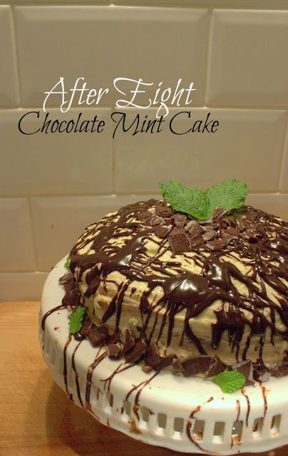Fenton Eats: After Eight Chocolate Mint Cake
