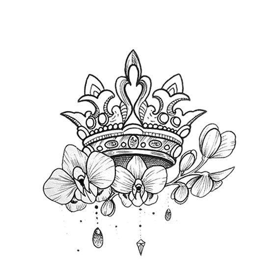корона с цветами картинки если