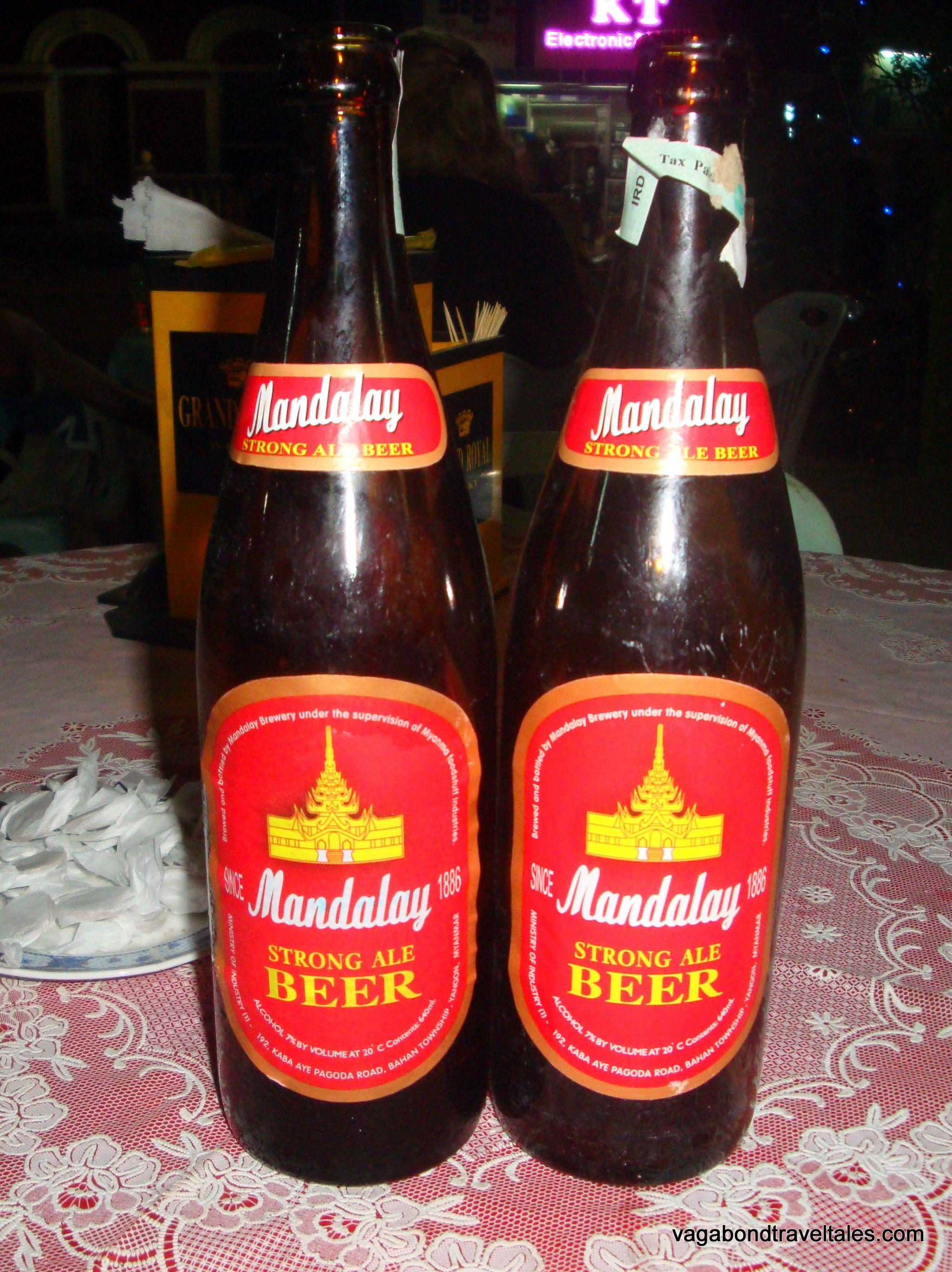 Mandalay Beer Myanmar Beer Ale Beer Drinking Beer