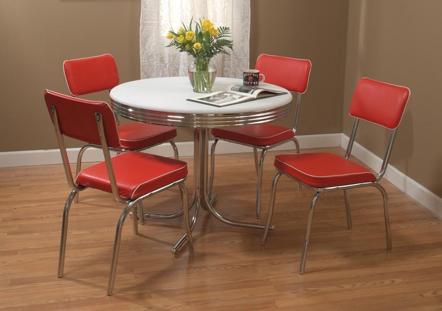 Retro Dining Room Sets   Netfurniture Buy Dining/ Breakfast Table Room Sets  Dining Room Table