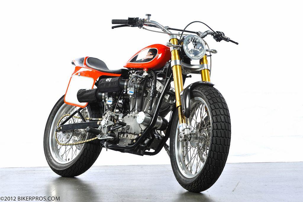 "1973 Harley Davidson Xr 750 Motorcycle Cool Daredevil: Racing Cafè: Harley ""Tracker"" By Steve Bender"