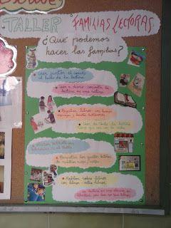 Arco Iris para leer: TALLER FAMILIAS LECTORAS