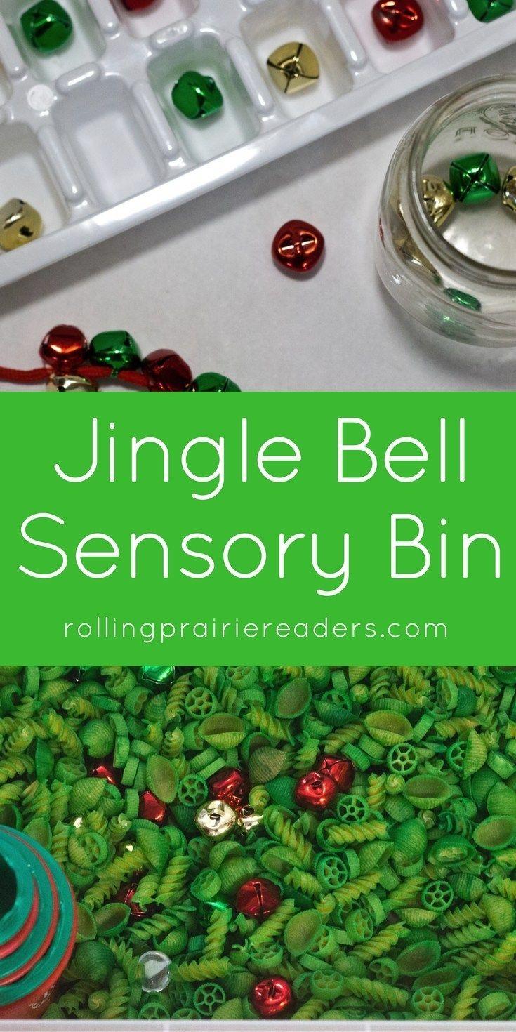 Jingle Bell Sensory Bin + Activity Ideas
