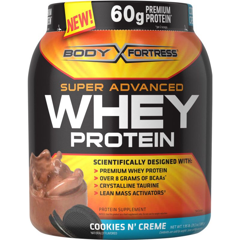 Buy Body Fortress Super Advanced Whey Protein Powder, Vanilla, 60g Protein,. ratio of whey isolates as ingredients (isolates are higher 'quality' protein); 3. Super Advanced Whey Protein can be taken immediately following exercise or as.. Such a complete protein .