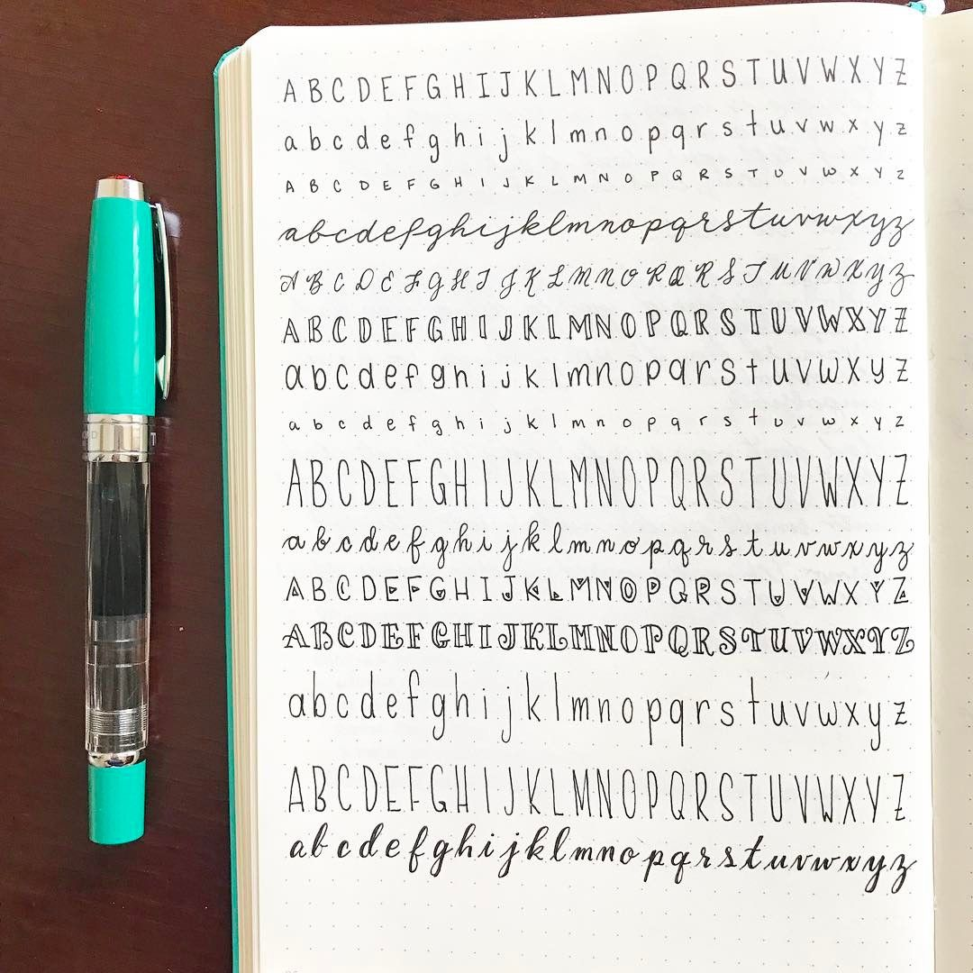 inspired by a @leuchtturm1917 repost from @inkbyjeng to practice my