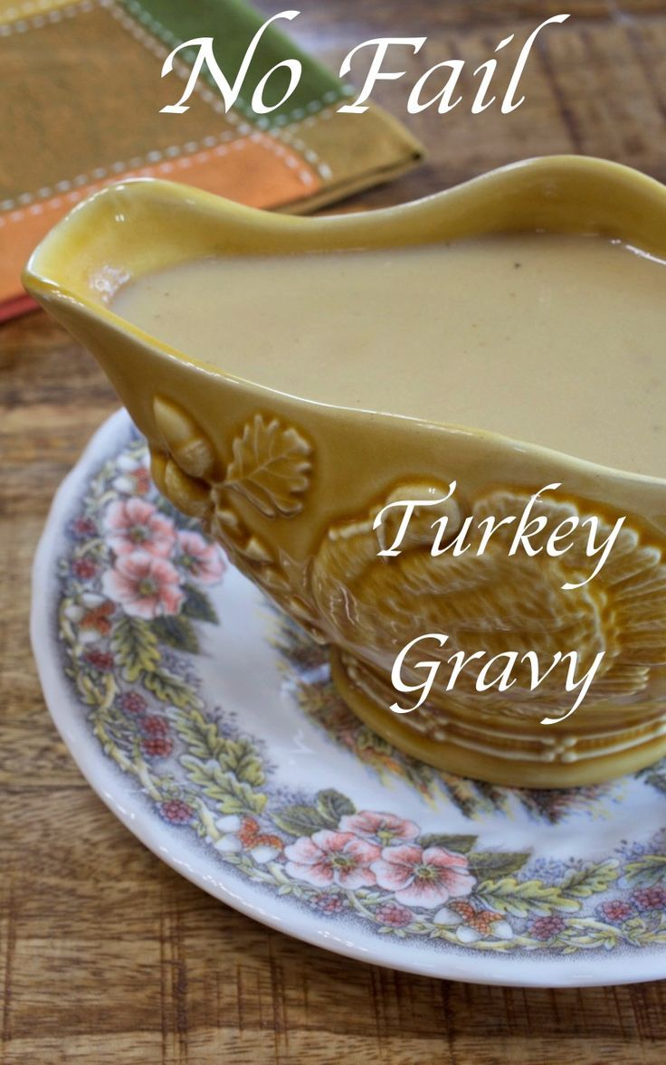 No-Fail Turkey Milk Gravy - My Country Table #turkeygravyfromdrippingseasy