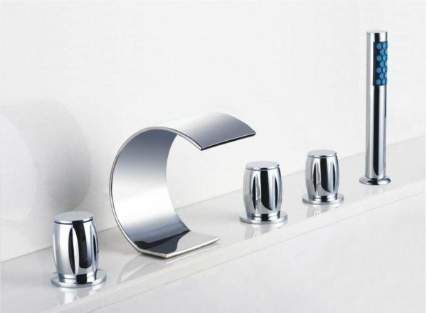 Led Licht Armatur Badewanne Badarmaturen Duscharmatur Waschbecken Armatur