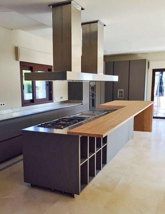 Gran campana de #cocina Pando Twin especial para gran #diseño de ...